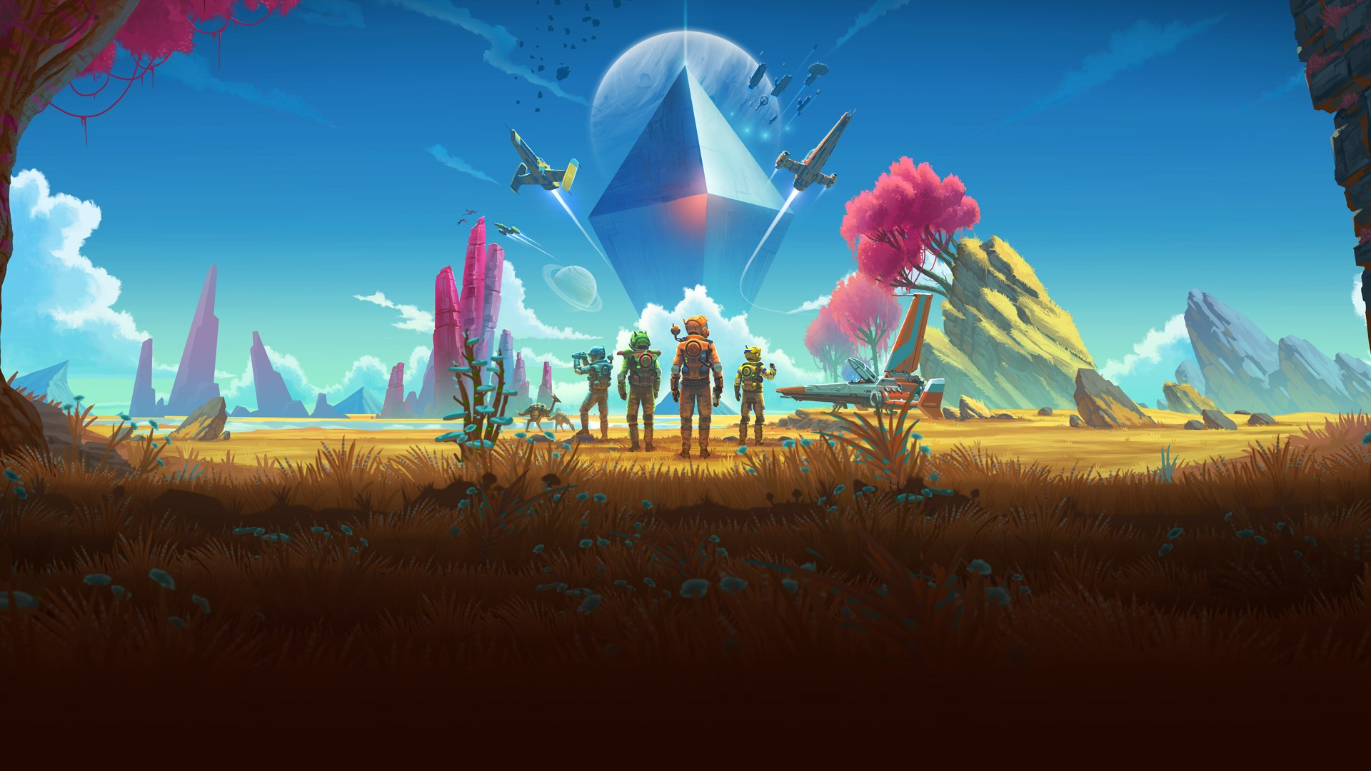 <em>No Man's Sky</em> was largely considered half-baked at launch, but frequent updates have attracted a continuing player base.