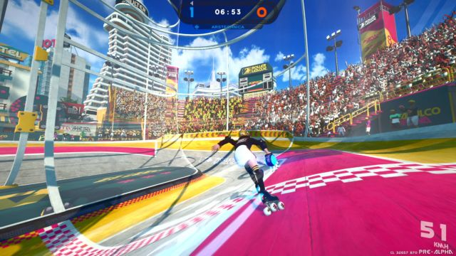 Roller Champions hands-on premiere: Ubisoft's fun, F2P