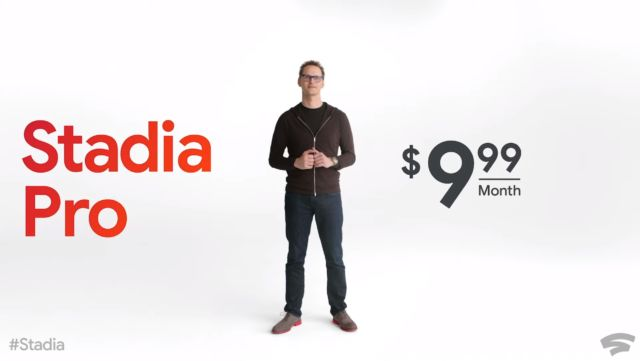 Google Stadia requires $130 upfront, $10 per month at November