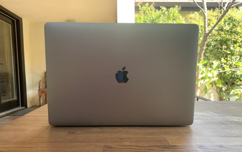 MacBook Pro back