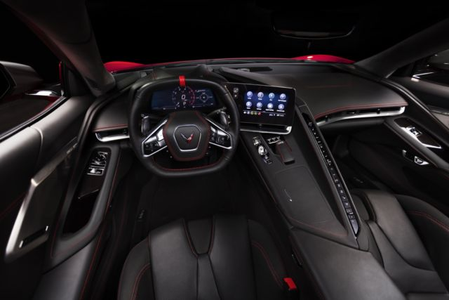 The Corvette goes mid-engined—supercar performance for
