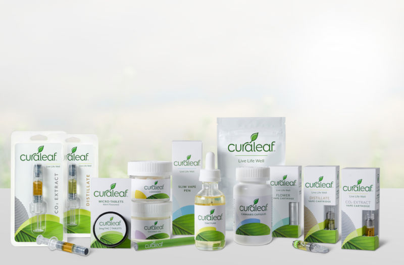 Curaleaf products.