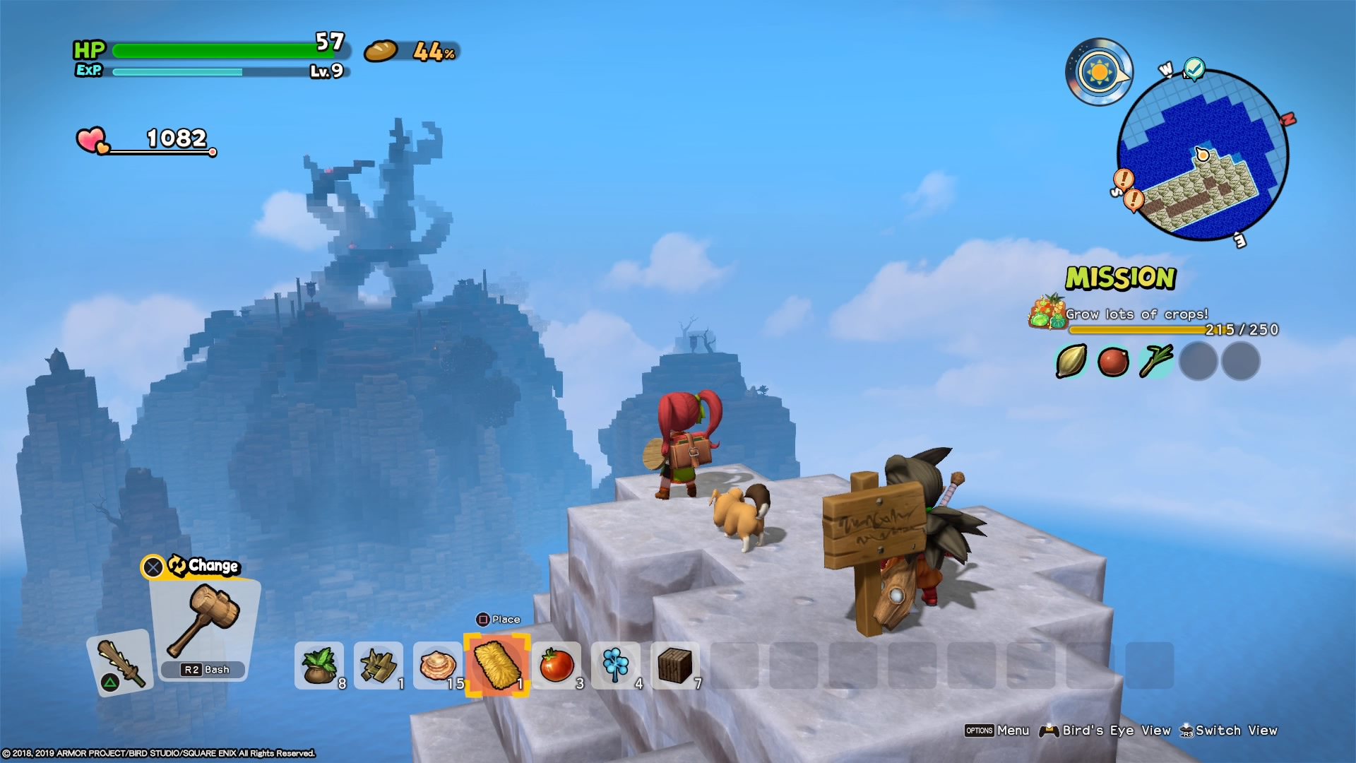Dragon Quest Builders 2 Review Building On Success Ars Technica