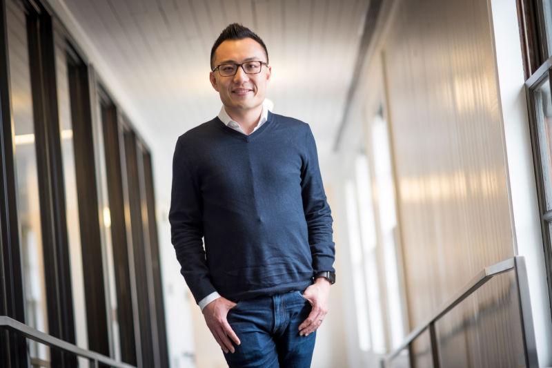 DoorDash CEO Tony Xu.