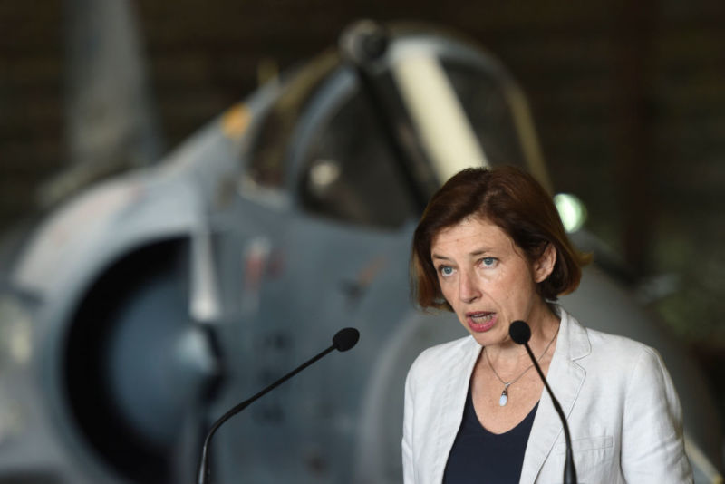 Florence Parly is the French defense minister.