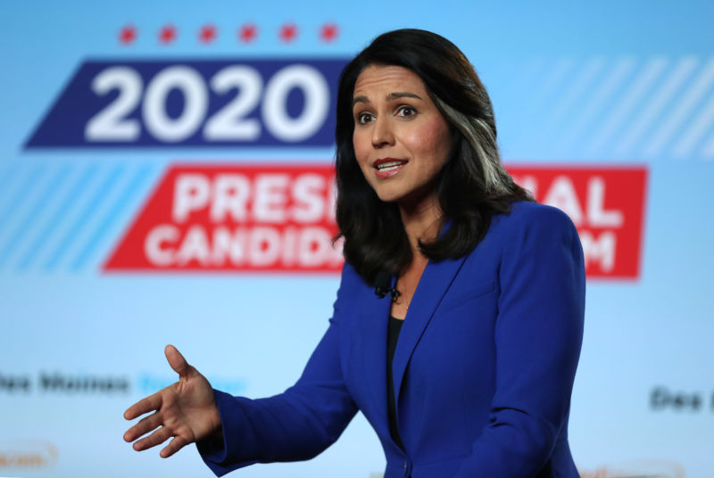 Rep. Tulsi Gabbard (D-Hawaii).