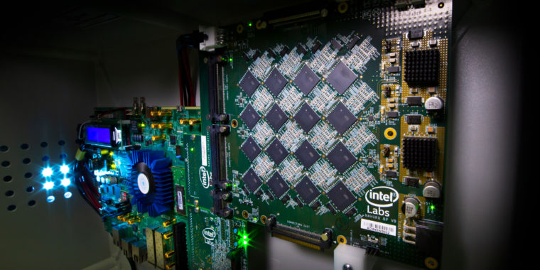 Brains scale better than CPUs. So Intel is building brains