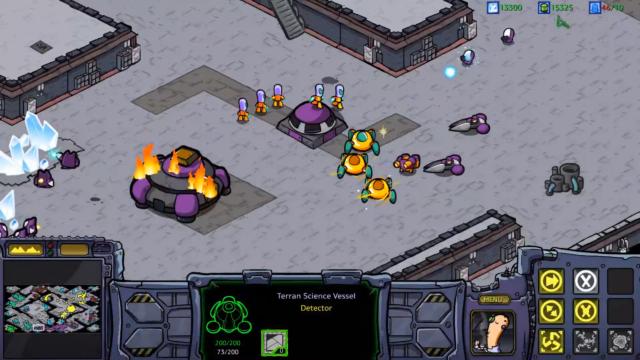 Official StarCraft mod makes the game look like a Saturday morning