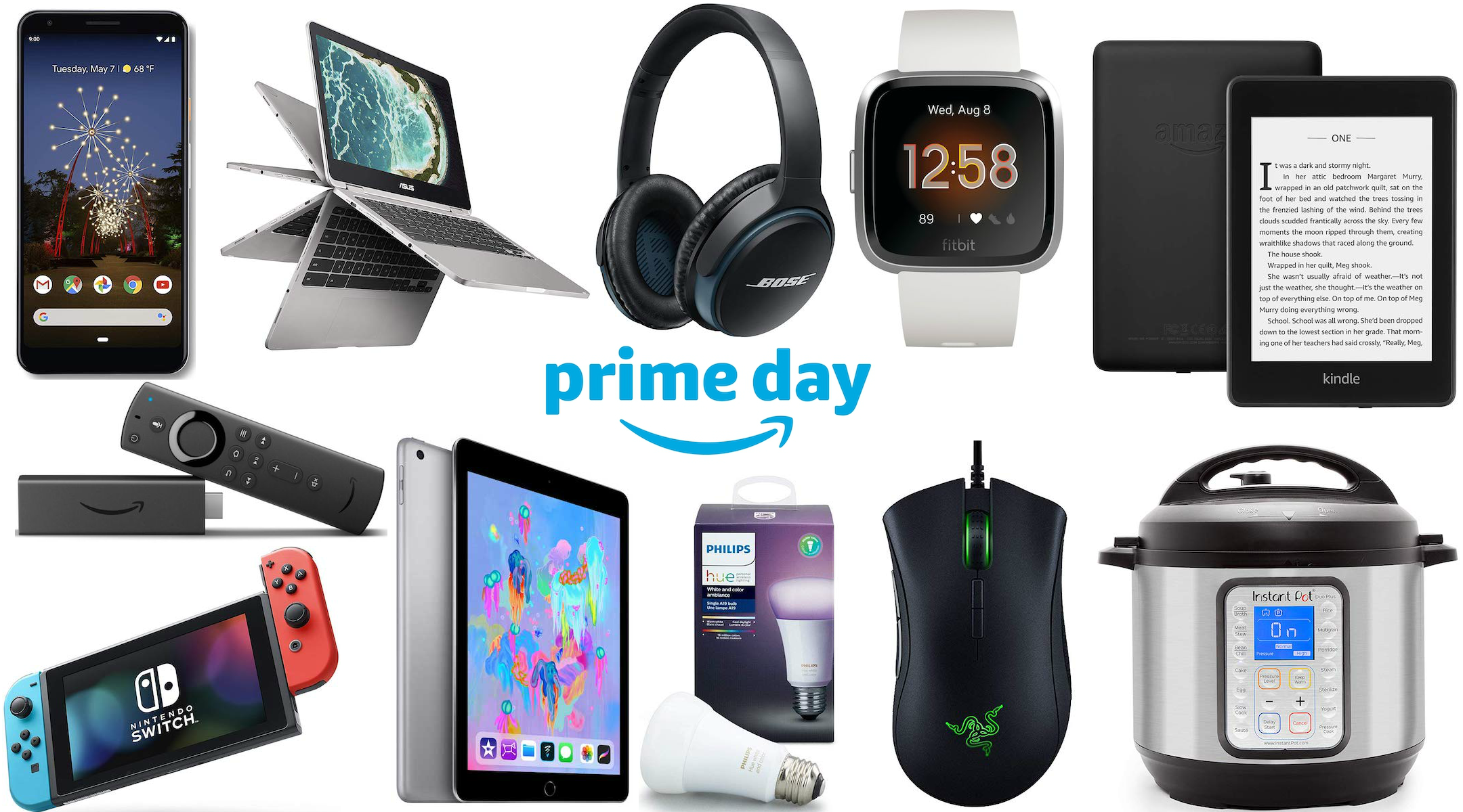 Amazon Prime Day best deals: Laptops, phones, TVs, and more tech