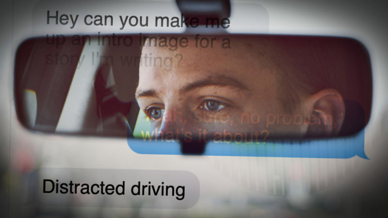 Your eyes are the key to distracted driving, not your brain