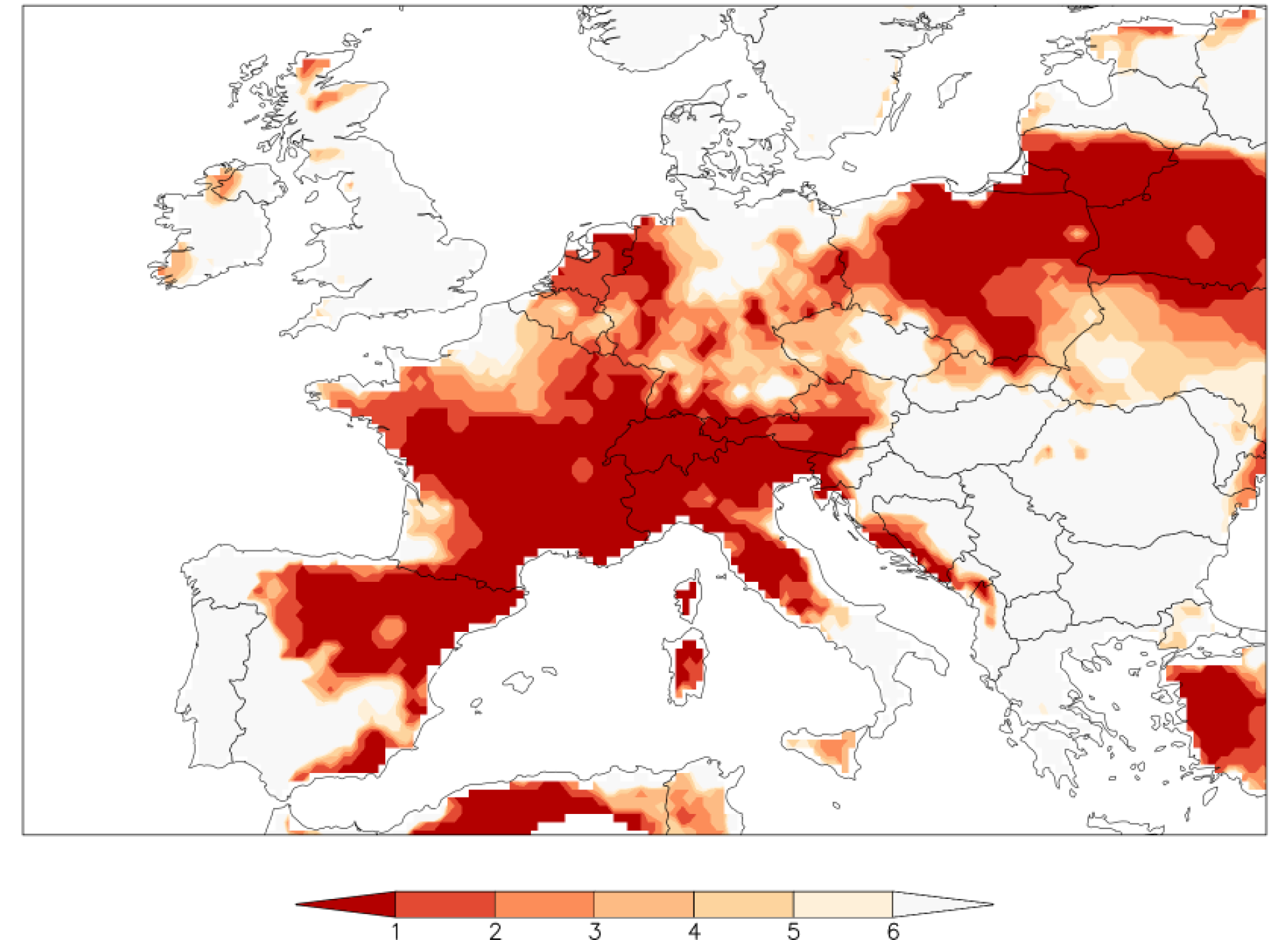 Rapid results in on climate change and the European heat wave | Ars on natural resource map of europe, regional map of europe, wales map of europe, world map of europe, ecological map of europe, biome map of europe, population density of europe, blank map of europe, physical map of europe, thematic map of europe, religion map of europe, map of western europe, soil map europe, home map of europe, altitude map of europe, map of languages in europe, climate map australia, climate map europe in 1914, maritime climate map europe, climate of north and south america,