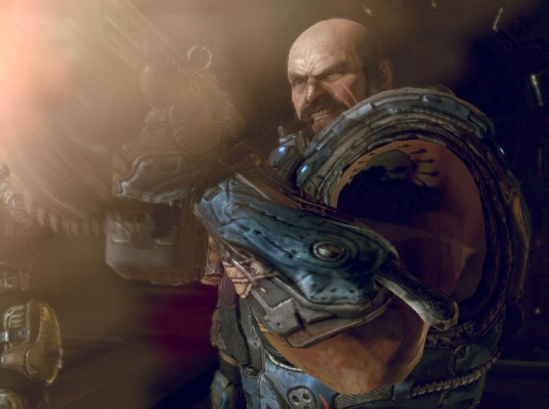 Don't expect any more cigar-chomping characters to show up in the <em>Gears</em> games going forward.