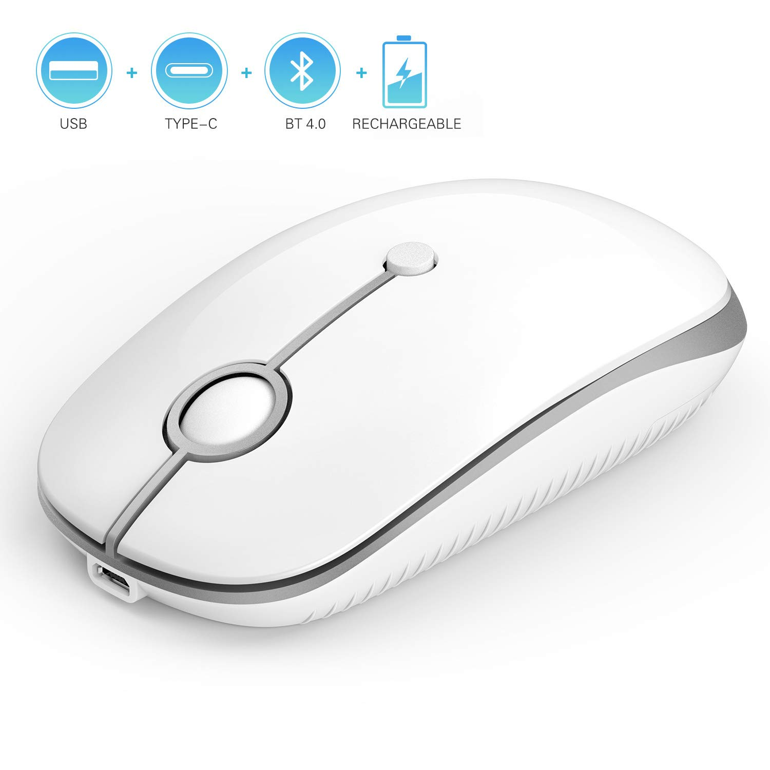 Jelly Comb Slim Optical Wireless Mouse product image