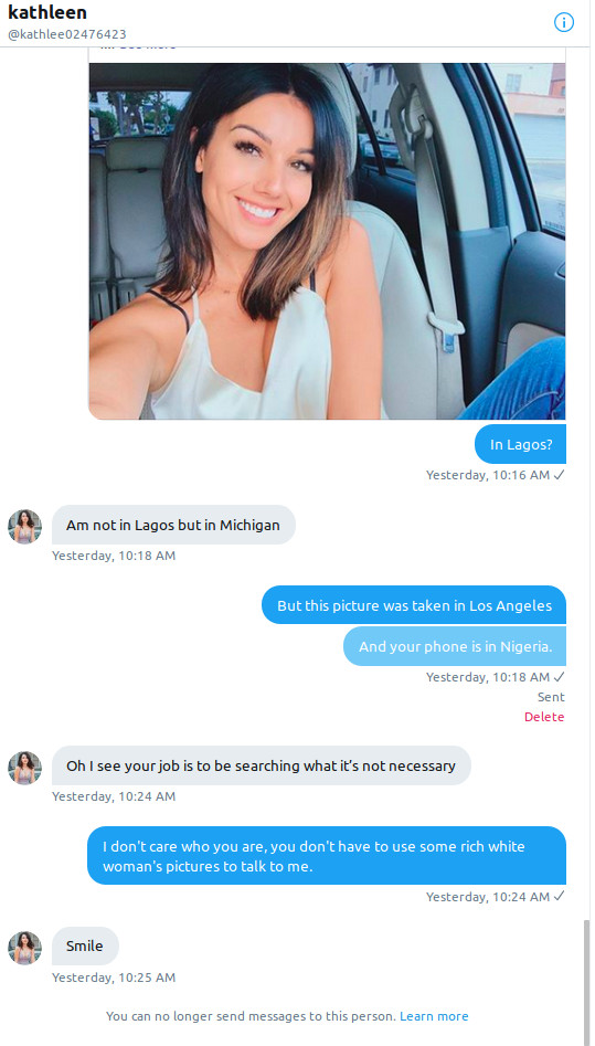 Nigerian Scammers Slide Into Dms So Ars Trolls Them Ars Technica