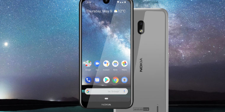 The $139 Nokia 2.2 brings back the removable battery