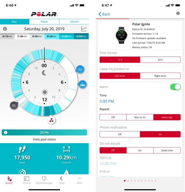 Polar Ignite review: Clever fitness perks marred by too many