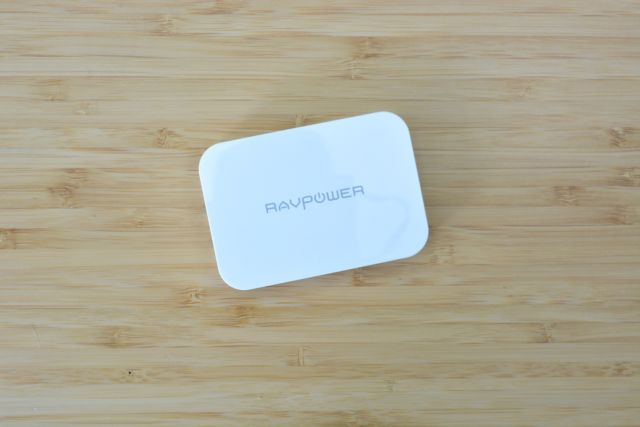 RavPower's 45W PD Charger is slim and can power up mobile devices quickly.
