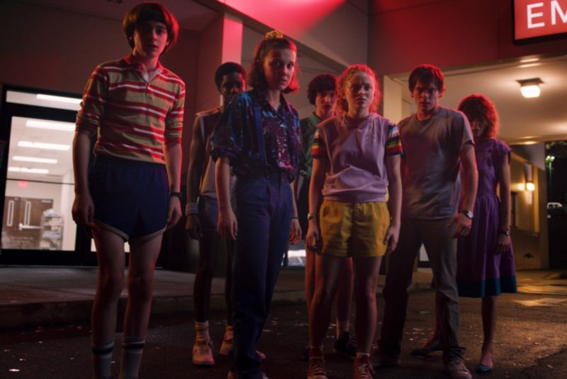 Eleven (Millie Bobby Brown) and the gang are back to face down yet another supernatural threat to Hawkins, Indiana, in the third season of <em>Stranger Things</em>.