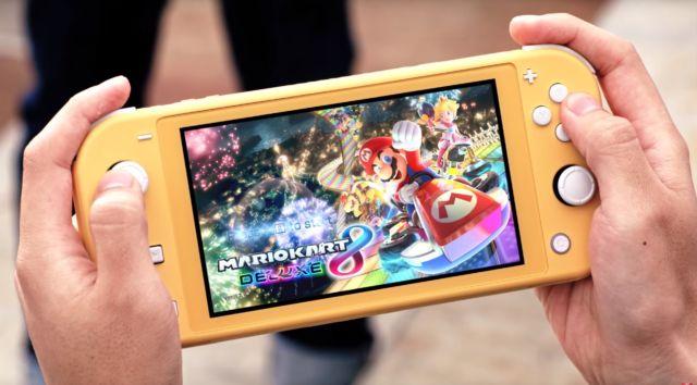 Nintendo Switch Lite.