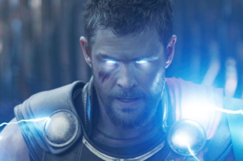Still image from Thor: Ragnarok.