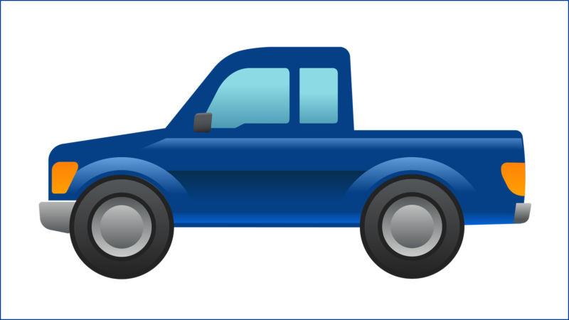 Ford designs a pickup truck emoji, petitions Unicode Consortium