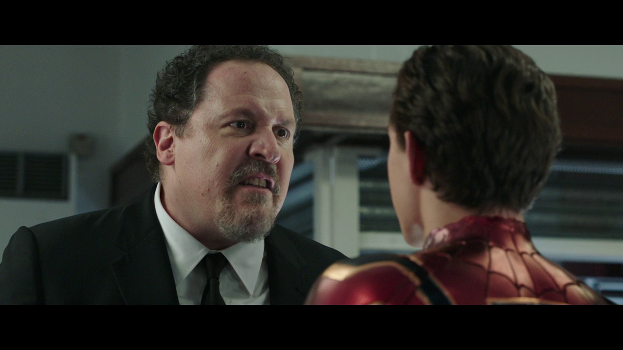 Jon Favreau as Happy is one of the new flick's best performers by far.