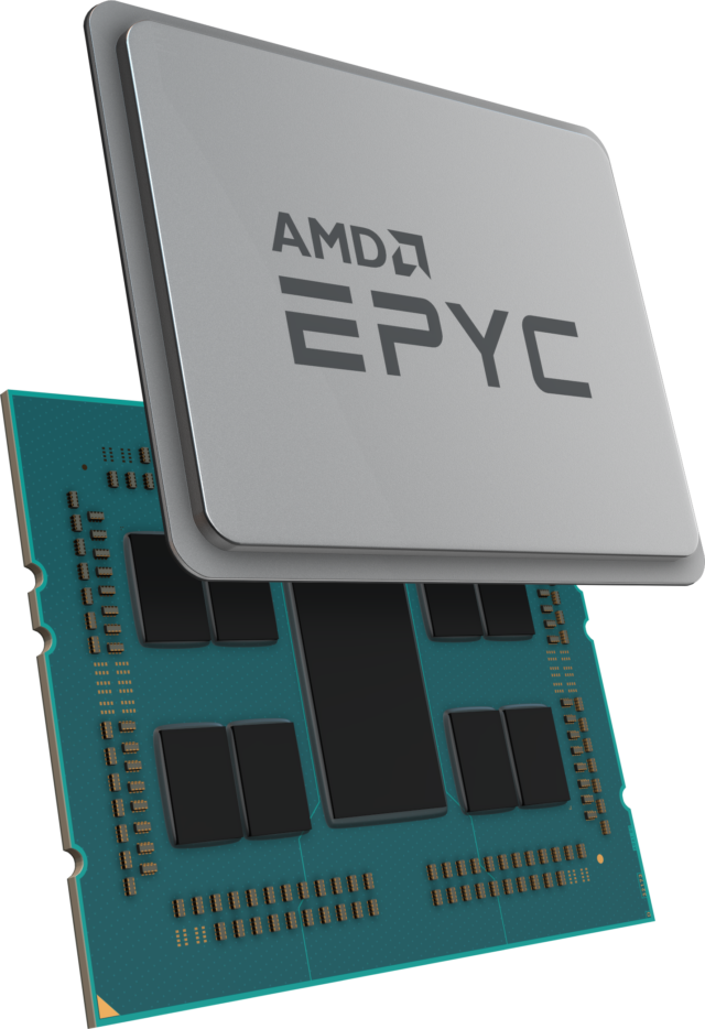 "A detailed look at AMD's new Epyc ""Rome"" 7nm server CPUs"
