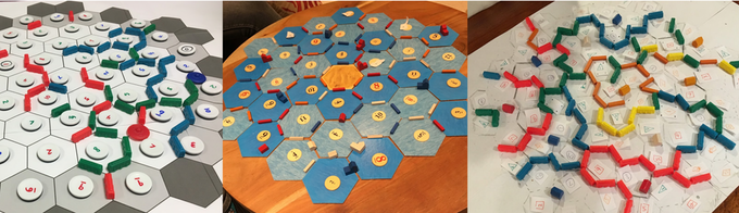 An early look at some <em>Mapmaker</em>Frakengameprototypes made with familiar components.