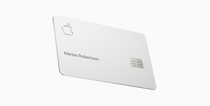 Apple Card physical card
