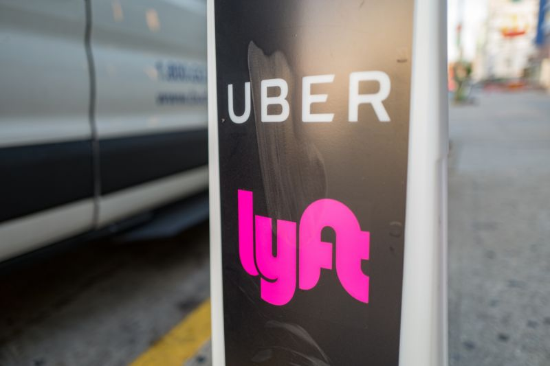 Uber's and Lyft's cut of fares can exceed 50%, report finds