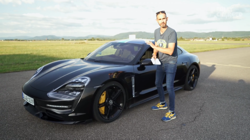 TV's Jonny Smith checks out the new Porsche Taycan EV for Fully Charged.