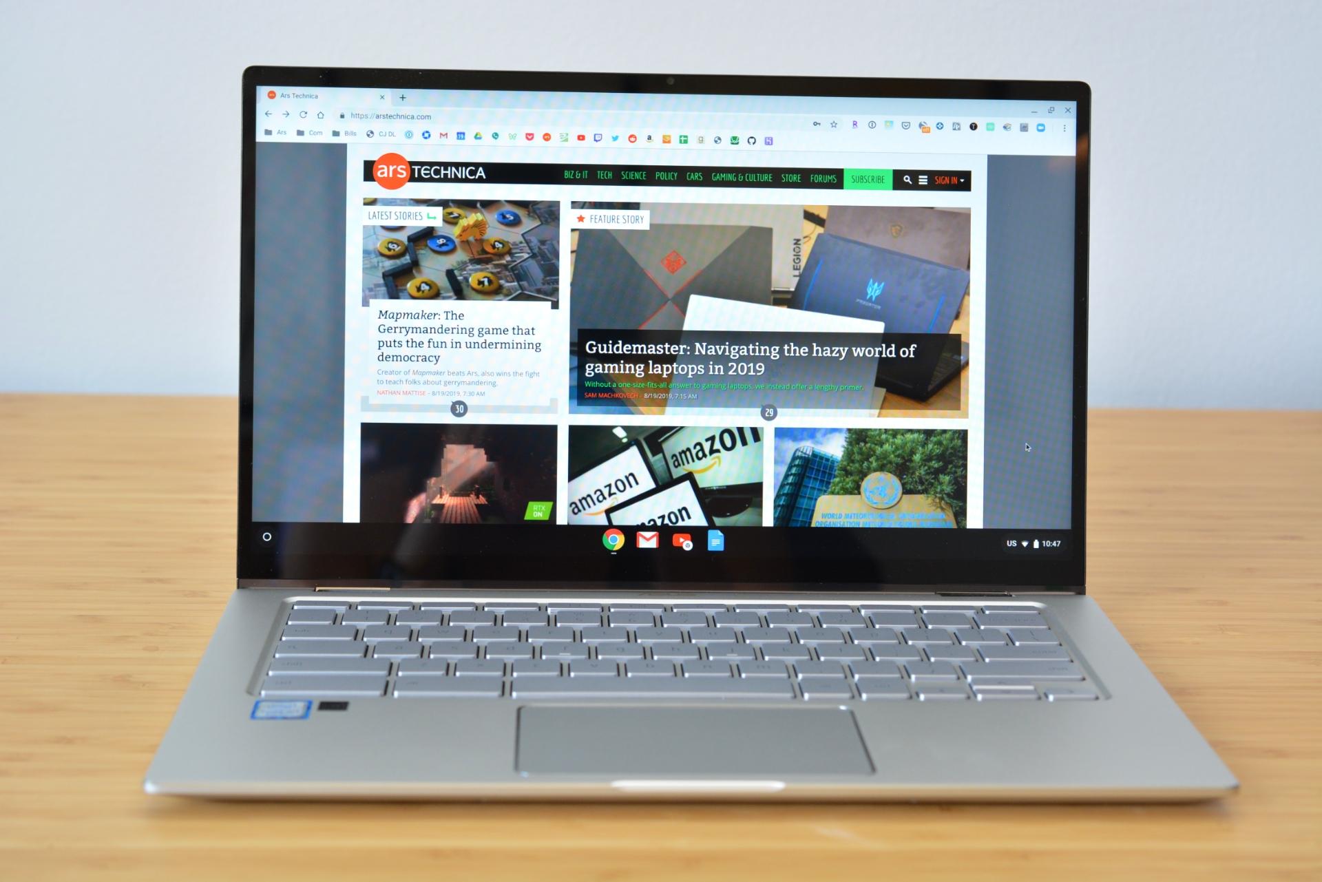 The Asus Chromebook Flip C434.