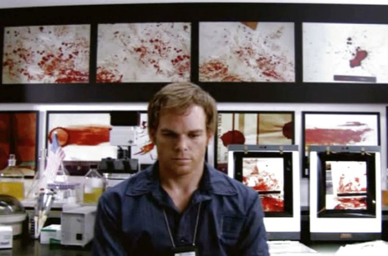 Dexter may be a (fictitious) serial killer, but he is also a leading expert in the analysis of blood spatter patterns. Two new papers could help real-life forensics to better analyze such patterns for investigating crime.