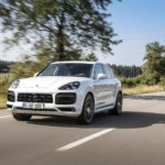 The Cayenne S Turbo E-Hybrid has a top speed of 183mph.