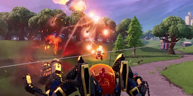 "Despite complaints, Epic stands behind Fortnite's ""anyone can win"" mechs"