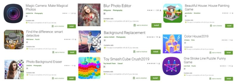 85 Google Play apps with 8 million downloads forced