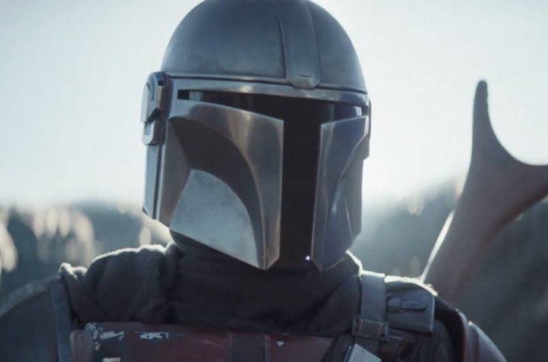 Screenshot from Trailer for upcoming series The Mandalorian.