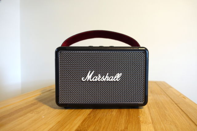 The Marshall Kilburn II portable Bluetooth speaker.