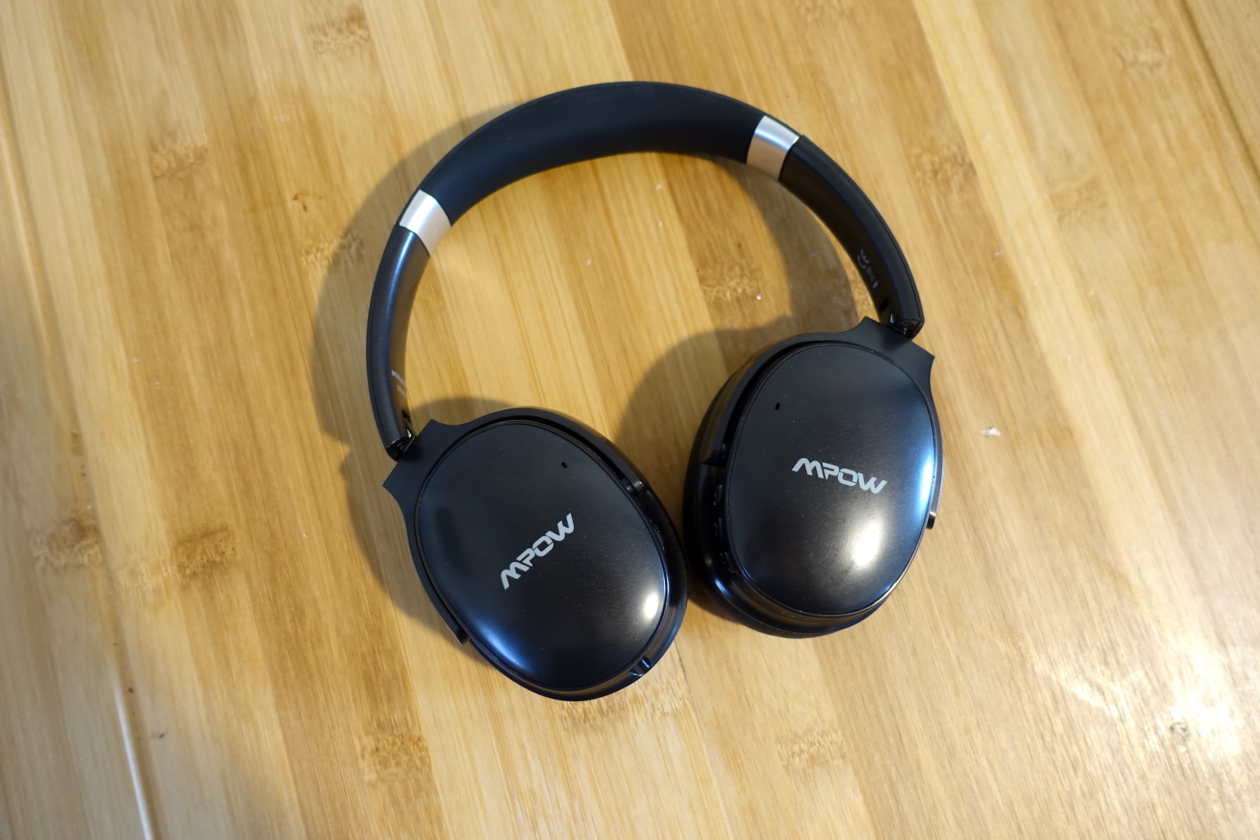 The Mpow H10 wireless noise-cancelling headphones.