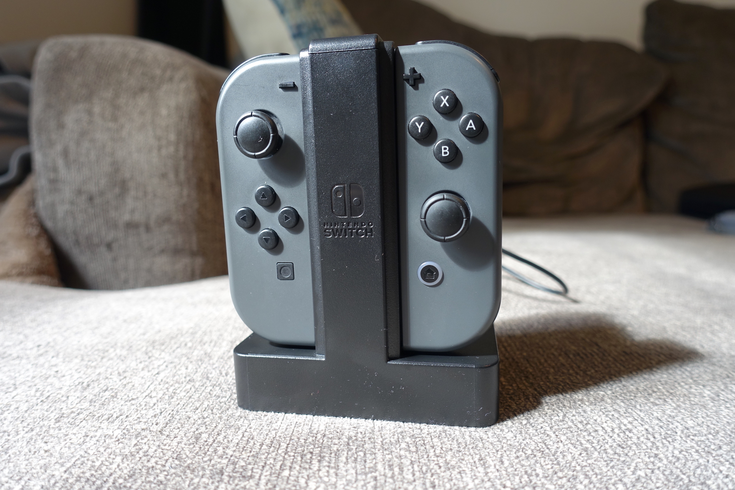 PowerA's Joy-Con Charging Dock is a recommended accessory for Nintendo Switch owners.