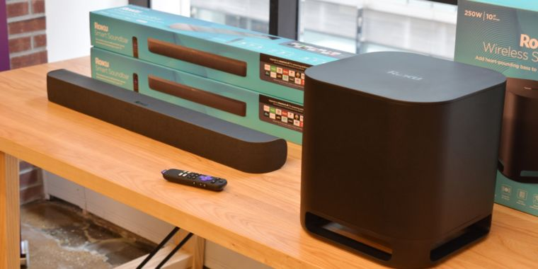 Roku's new $179 soundbar doubles as a streaming device, works with most TVs