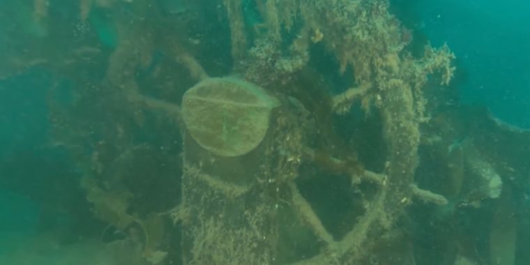 Fresh images of HMS Terror shipwreck could clear up lingering mysteries