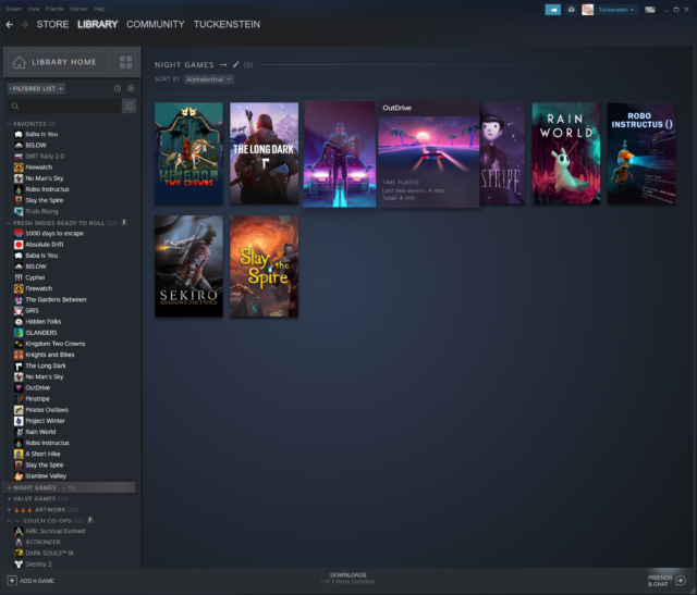 """Steam's new, handsome """"Library"""" update is better 16 years"""