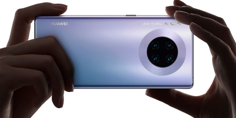 Huawei Mate 30 Pro forbids you from sideloading the Google Play Store