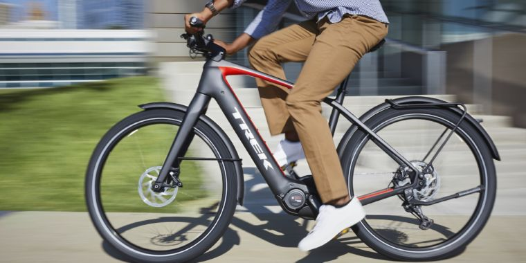 A bike with a built-in assist: Trek's newest entry in pedal-assist cycling