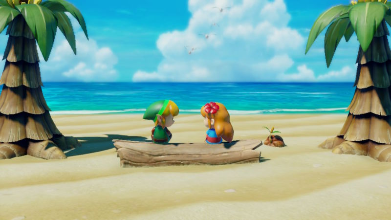Zelda Link S Awakening Review This Beach Adventure Looks
