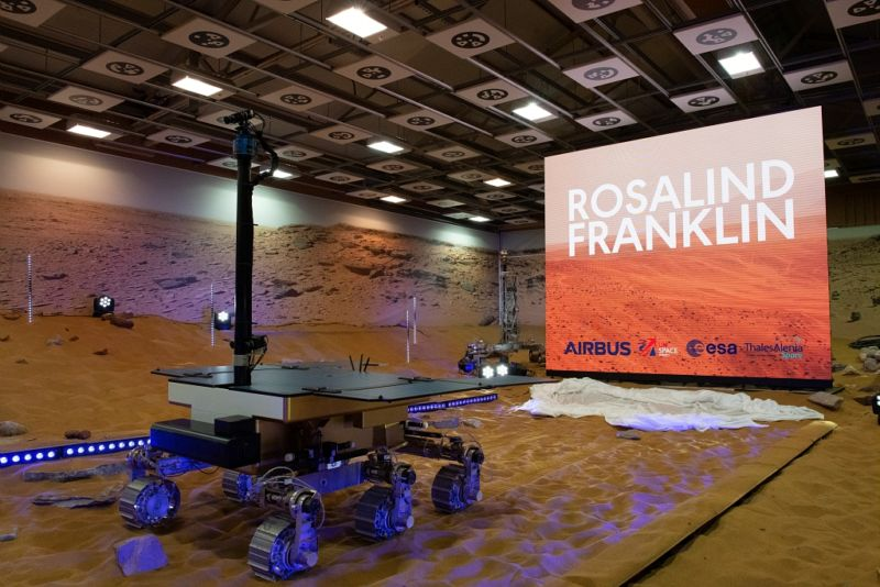 If the ExoMars spacecraft successfully lands on Mars, it will deploy the Rosalind Franklin rover.