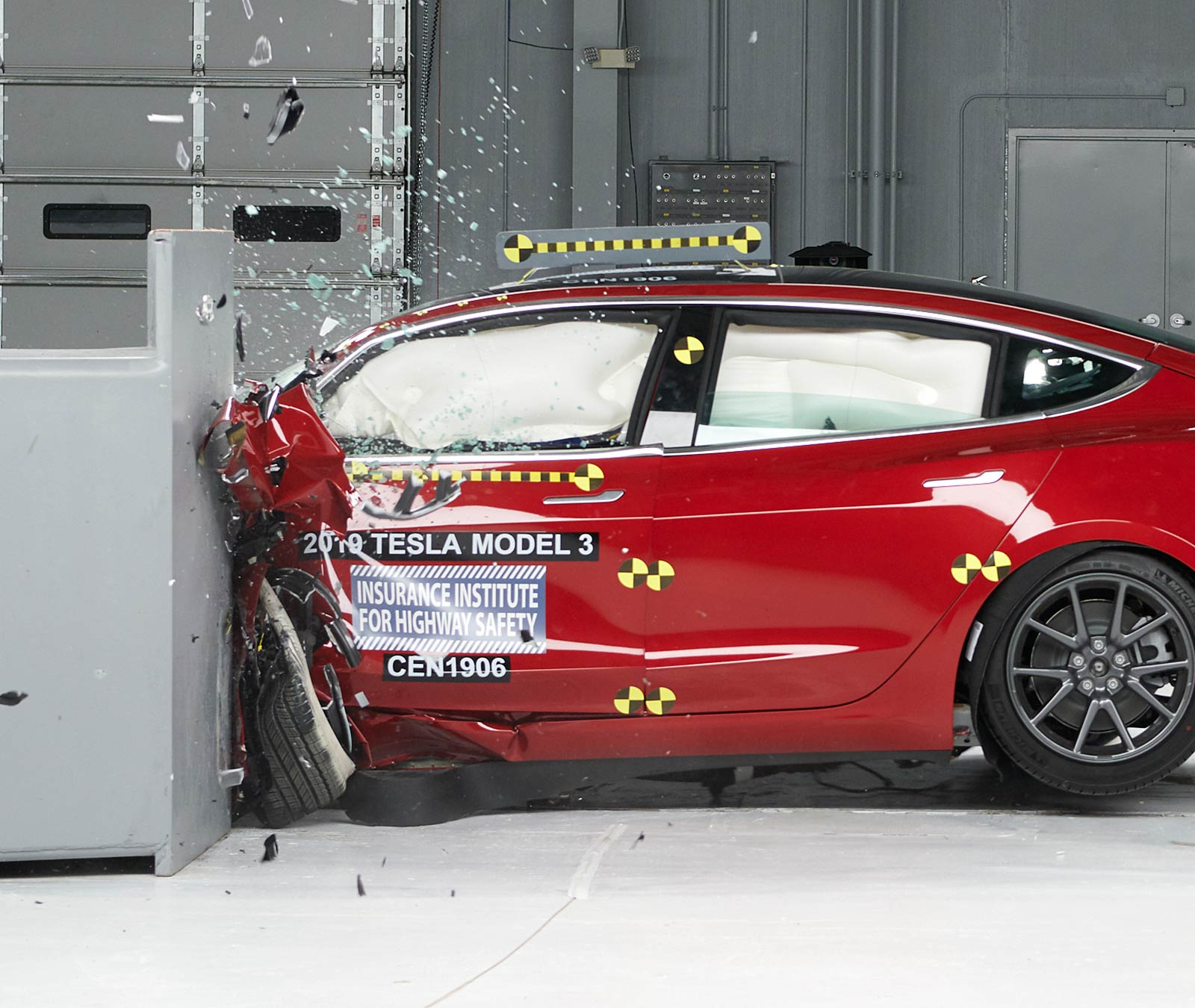Tesla Model 3 Wins Top Safety Rating After Acing Crash Tests