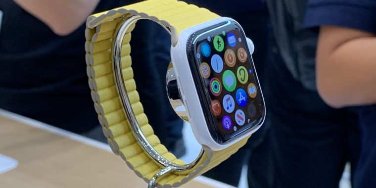 Image result for Apple Watch series 5 hands-on: Software is king