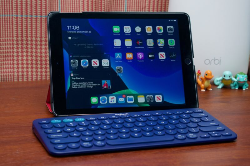 Add a Bluetooth keyboard to an iPad Air 2 running iPadOS 13 and you've got a surprisingly capable device for browsing and shooting off emails and Slack messages.